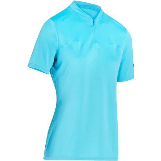 Fietsshirt met korte mouwen dames 100 - 201296