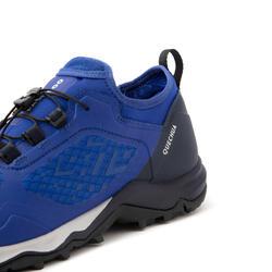 ULTRA-LIGHT HIKING SHOES - FH500 - BLUE - MEN
