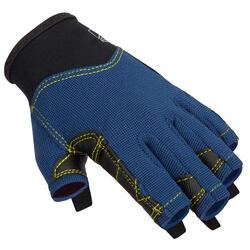 Luvas sem dedos de Vela sailing 500 Criança Azul-escuro