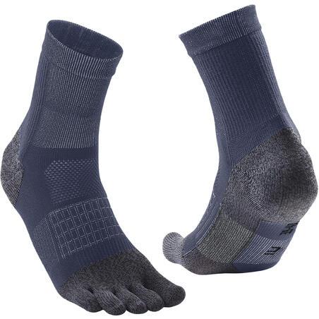 RUN900 Running 5-toe socks - Blue