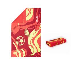 Ultra-Compact Microfibre Towel Size L 80 x 130 cm - Spain Print