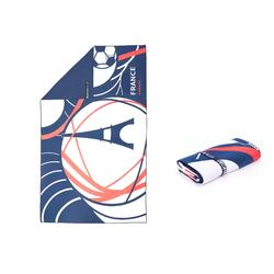 Ultra-Compact Microfibre Printed Towel Size L 80 x 130 cm