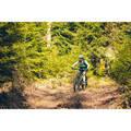 DÁMSKÉ OBLEČENÍ NA HORSKÉ KOLO DO TEPLÉHO POČASÍ Cyklistika - DRES MTB ST500 TYRKYSOVÝ  ROCKRIDER - Cyklistické oblečení