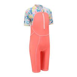 女孩款游泳短褲 - All Fruts粉紅色