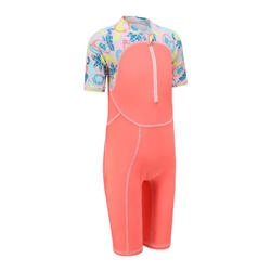 Girl's Swimming Shorty - All Fruts Pink