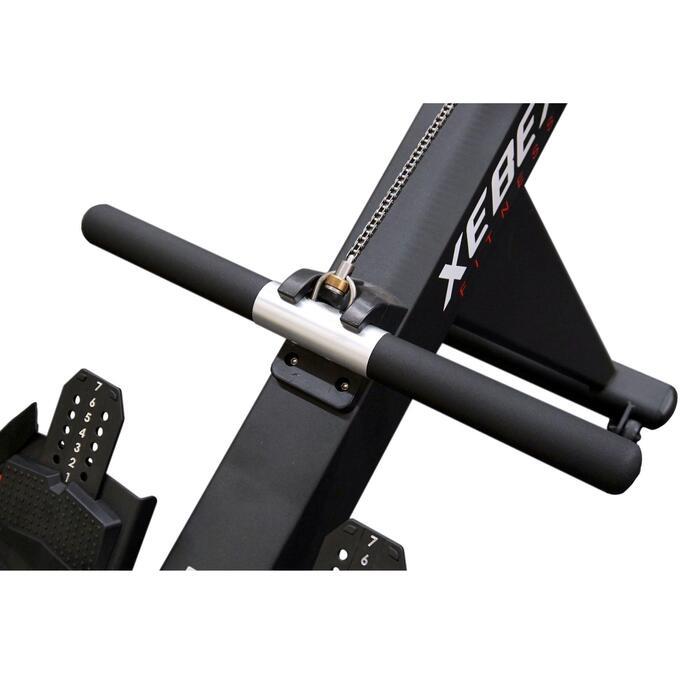 Zusammenklappbares Rudergerät sehr robust Xebex Air Rower 2.0
