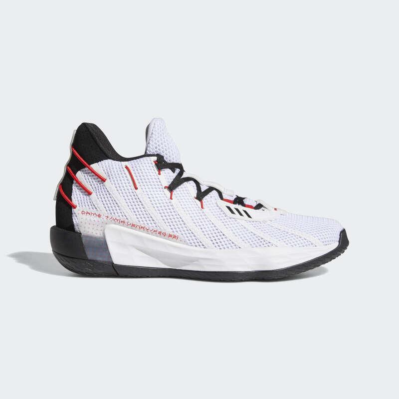 Kosárlabda cipő Sportcipők - Férfi kosárlabda cipő Dame 7  ADIDAS - Cipő