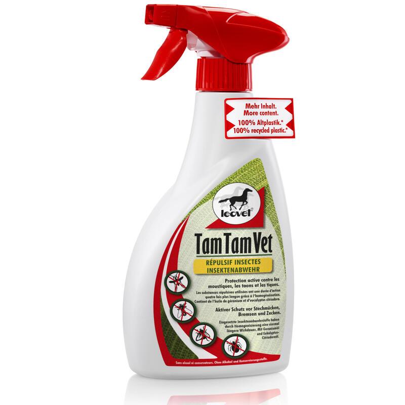 Insectifuge équitation cheval et poney TAM TAM VET 550 ML