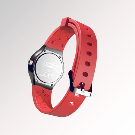 שעון ספורטיבי לילדים עם מחוגים A300S - אדום