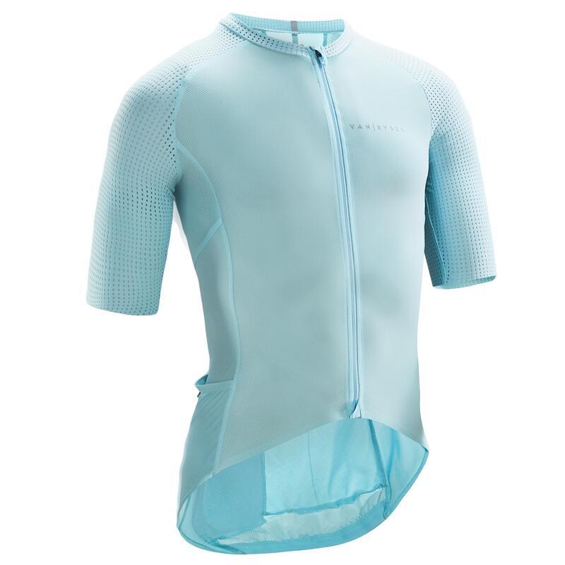 Maillot Vélo Route Racer Ultralight bleu banquise