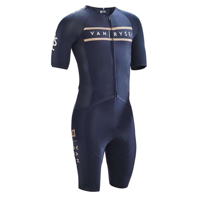 HAB VELO RTE CYCLOSPORT TPS CHAUD H Kerékpározás - Kerékpáros egyberuha Racer C3 VAN RYSEL - Kerékpáros ruházat