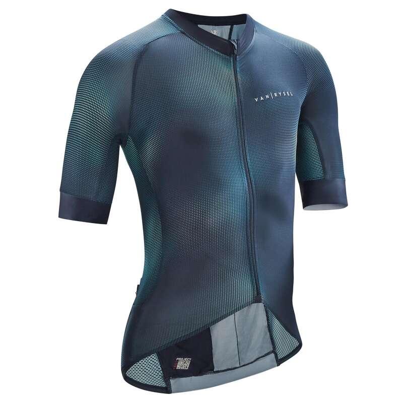 HAB VELO RTE CYCLOSPORT TPS CHAUD H Kerékpározás - Kerékpáros mez EDR C1 VAN RYSEL - Kerékpáros ruházat