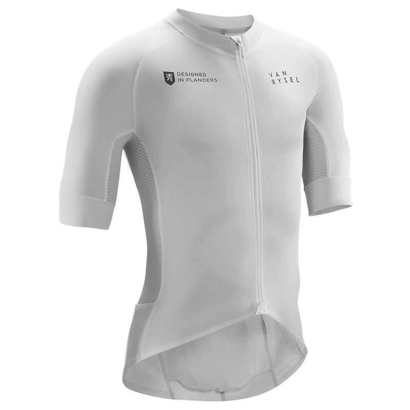 Maillot Vélo Route RACER Team blanc