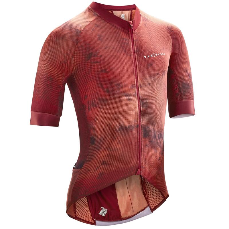 Men's Road Cycling Jersey Endurance Racer - Changing Red
