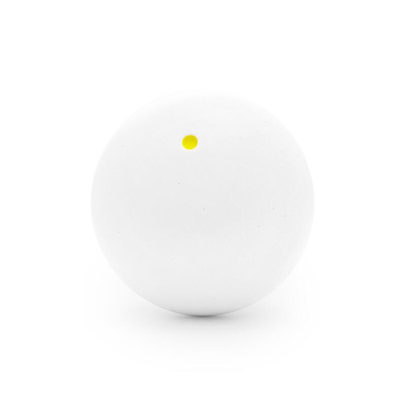 Squash Ball SB 960 Yellow Dot - White