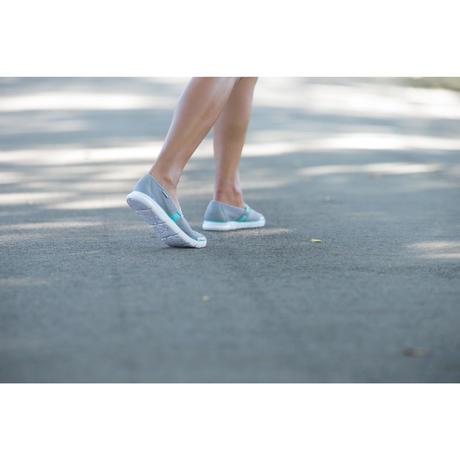 ballerines marche sportive femme soft 520 gris bleu. Black Bedroom Furniture Sets. Home Design Ideas