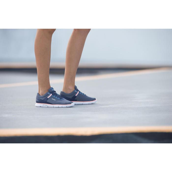 Chaussures marche sportive femme Soft 540 blanc moucheté - 201594