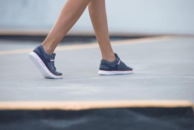 נעלי הליכת כושר לנשים Soft 540 - לבן מנומר