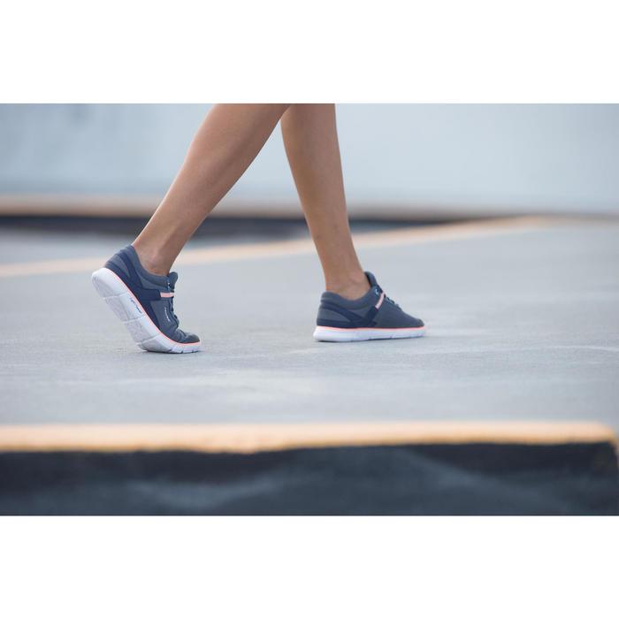 Chaussures marche sportive femme Soft 540 blanc moucheté - 201596