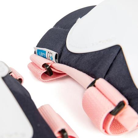 Set 3x2 protections roller enfant PLAY Bridal Pink
