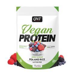 Proteinpulver Vegan Protein Zero Sugar Red Fruit Party 500g