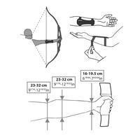 Club 500 Archery Short Bracer