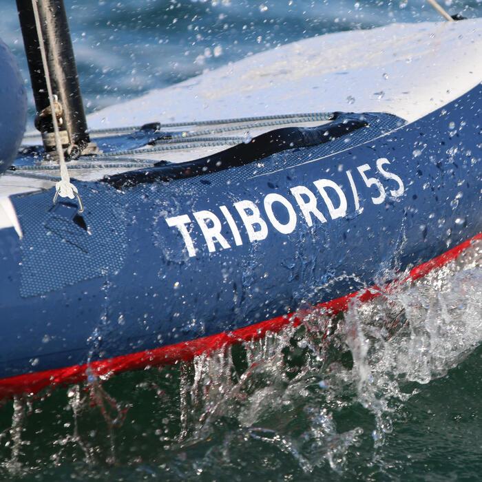 Segelboot aufblasbar Tribord 5S
