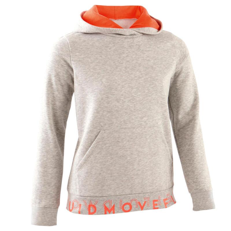 Hoodie voor kinderen grijs