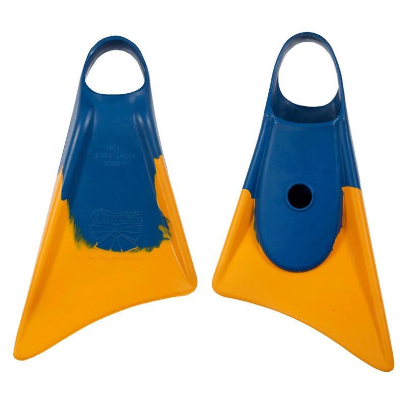 Palmes bodyboard MAKAPUU Orange / Bleu