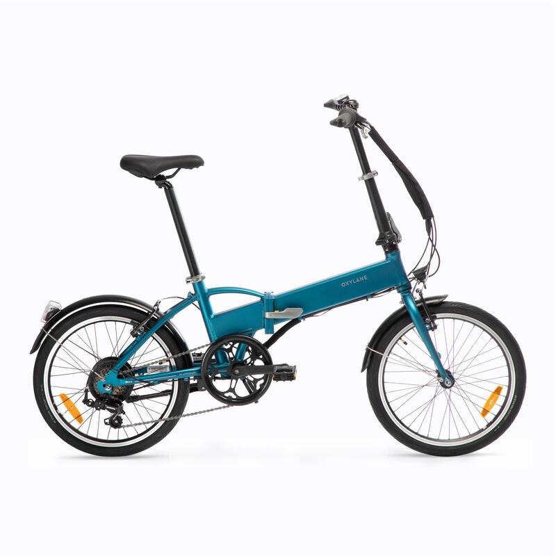 Electric Assistance Folding Bike Tilt 500 - Blue