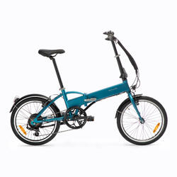 Bici pieghevole a pedalata assistita TILT 500 E azzurra