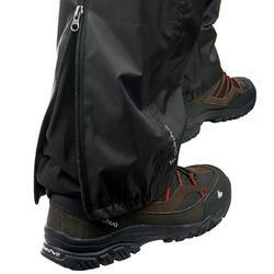 Sobrecalças de Caminhada impermeáveis NH500 Imper Homem Preto