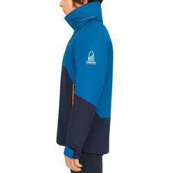 Casaco Impermeável de Vela Corta-vento SAILING 300 Criança Azul Petróleo