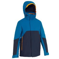 Veste de quart imperméable coupe-vent de voile Enfant SAILING 300 Pétrole bleu