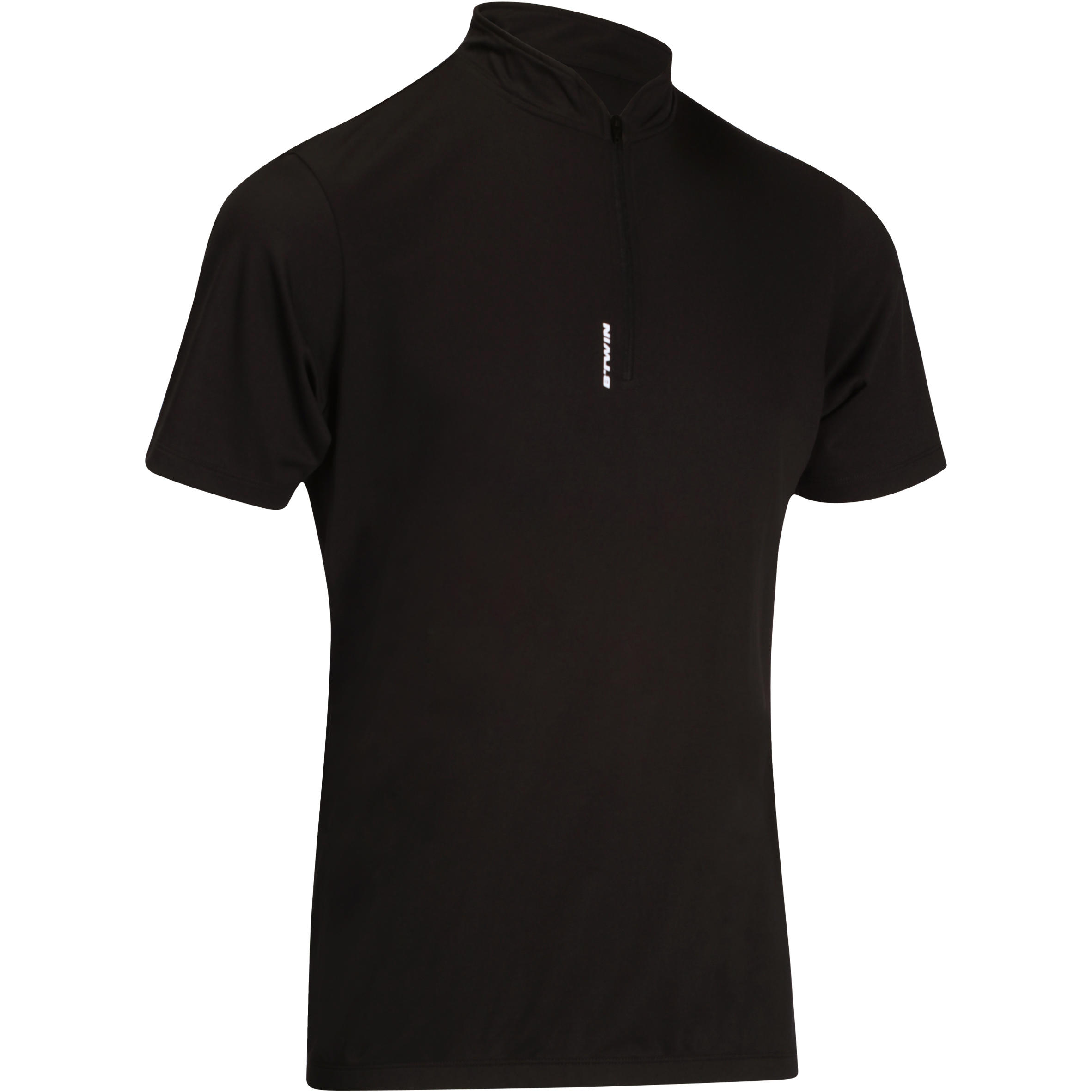 100 Short-Sleeved Cycling Jersey - Black
