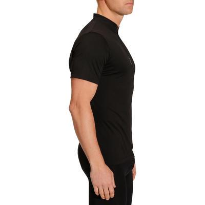 Camiseta manga corta ciclismo hombre 300 negro