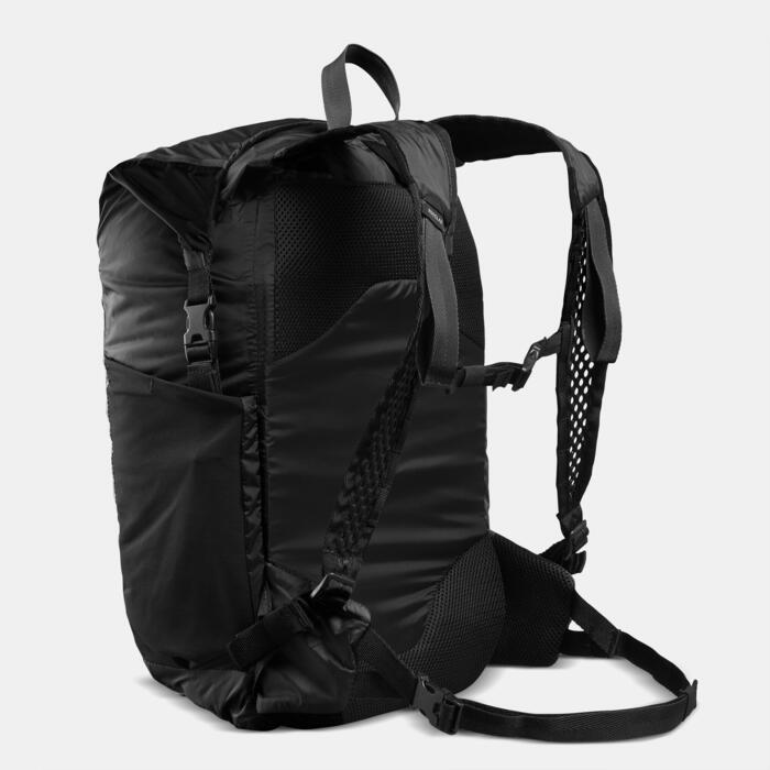Sac compact imperméable TRAVEL 25L noir