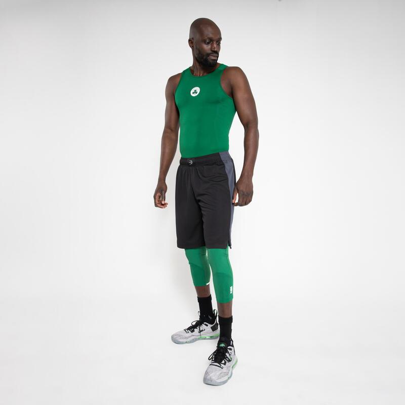 Canotta termica basket uomo UT500 NBA BOSTON CELTICS verde