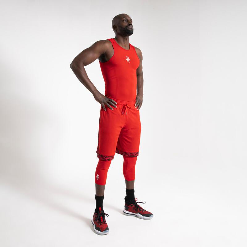 Canotta termica basket uomo UT500 NBA HOUSTON ROCKETS rossa