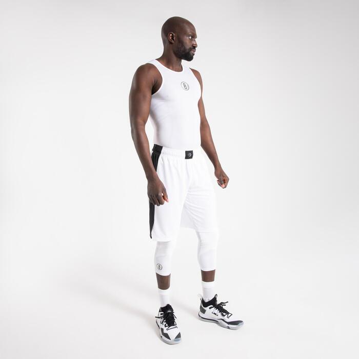 Men's Sleeveless Basketball Base Layer Jersey UT500 - NBA Brooklyn Nets