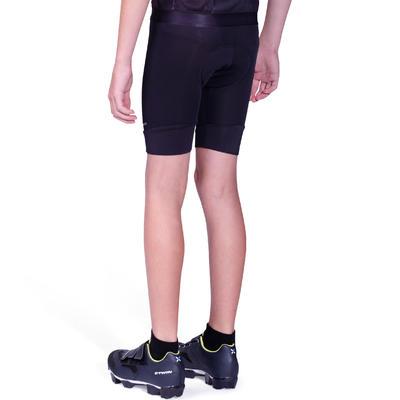 Kids' Cycling Shorts 100 - Black