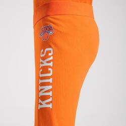 Boys'/Girls' Capri Basketball Leggings - Orange/NBA New York Knicks