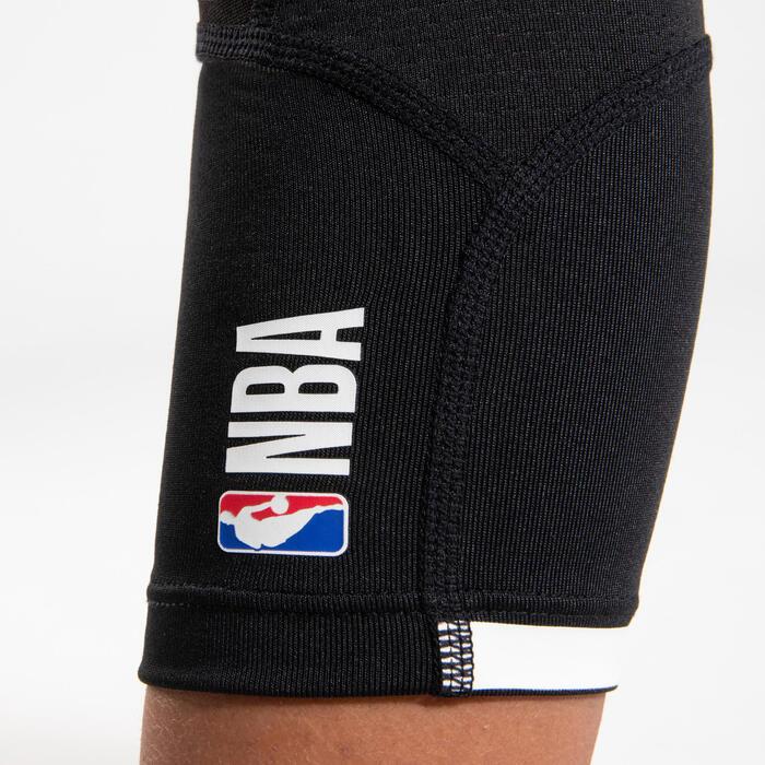 Boys'/Girls' Capri Basketball Leggings - Black/NBA Los Angeles Lakers