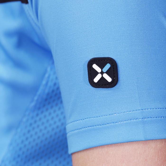 Maillot manches courtes vélo enfant 700 bleu - 201850