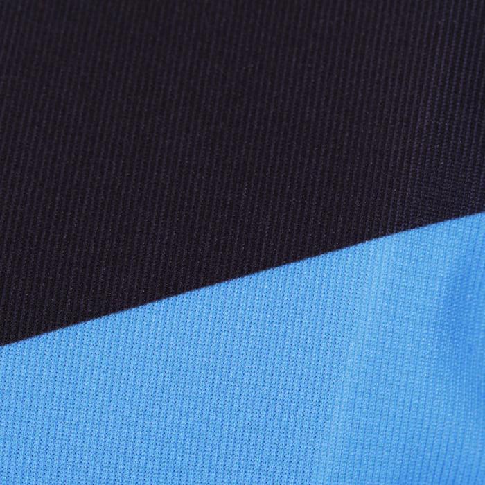 Maillot de manga corta ciclismo infantil 700 azul