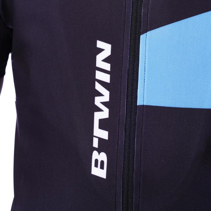 Maillot manches courtes vélo enfant 700 bleu - 201864