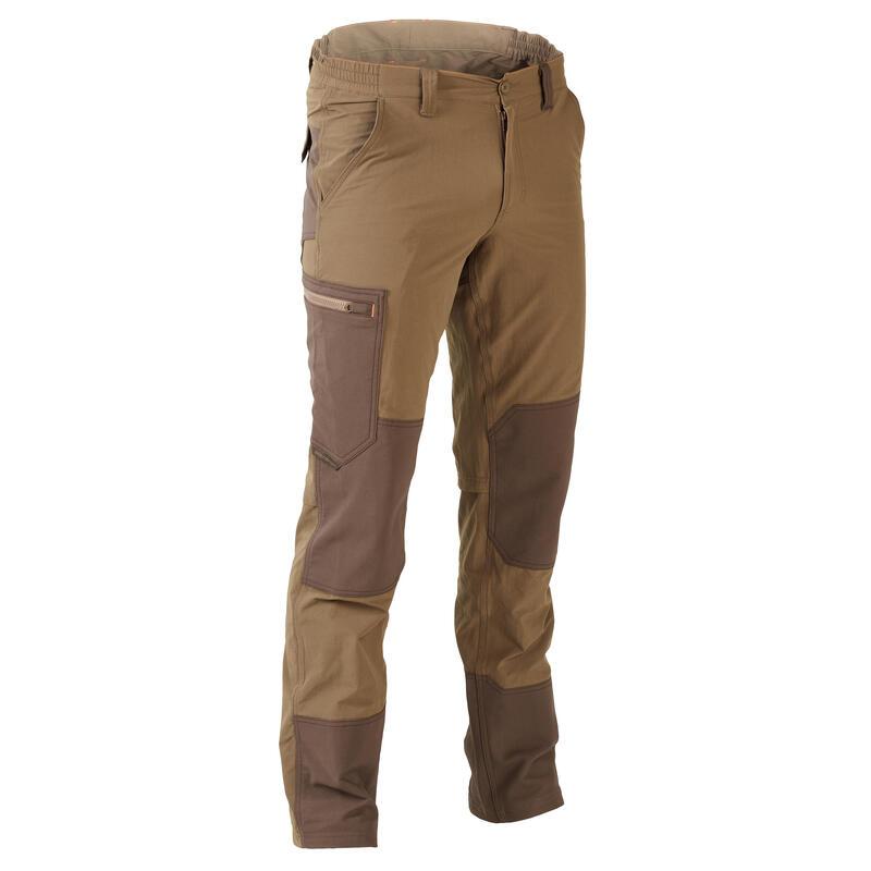 Pantaloni leggeri, traspiranti e resistenti caccia 520 marroni
