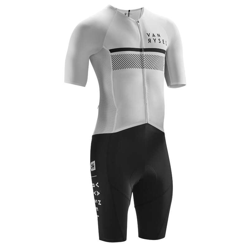 ROUPA BICI ESTR TEMPO QUENTE H Equipamento Ciclismo - Fato Bicicleta Racer C2 VAN RYSEL - Equipamento Ciclismo