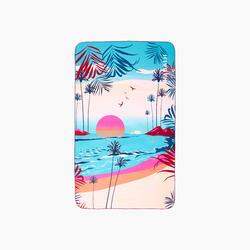 Toalha de natação microfibra estampado Tamanho XL 110 x 175 cm
