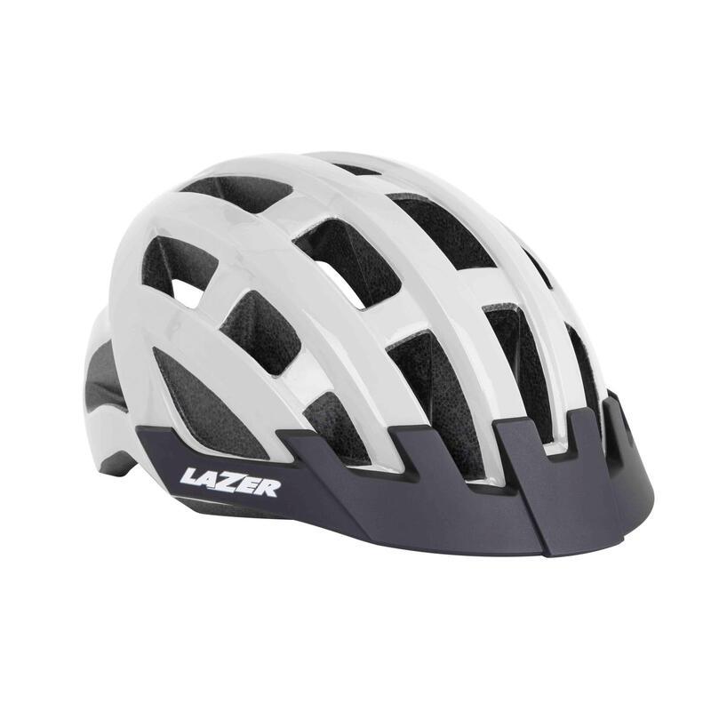 Lazer Compact MTB Helmet - White